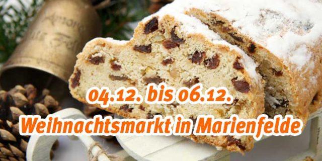 Weihnachtsmarkt in Marienfelde